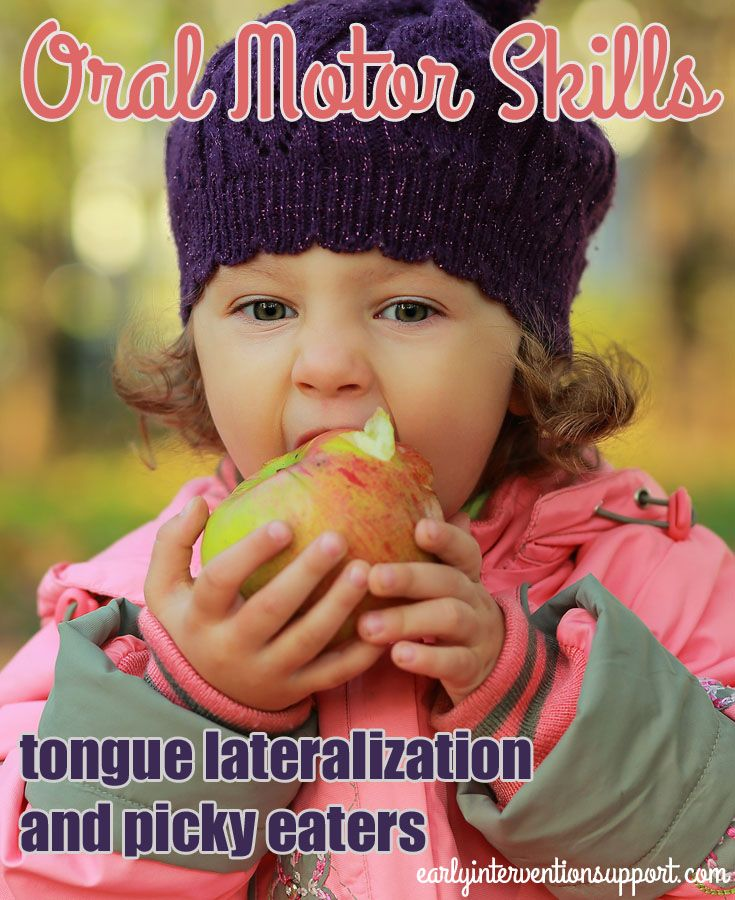 During early childhood, children gain oral motor skills to move on to new foods. One of the most significant of these skills is tongue lateralization.