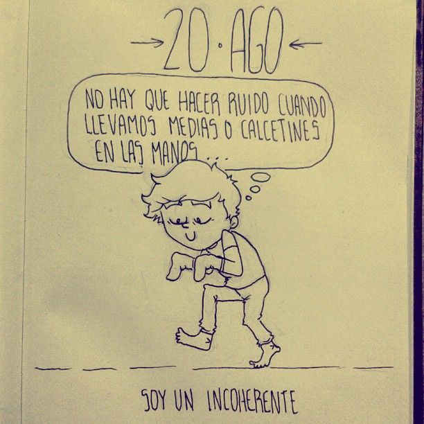 20 AGO - Daily Comic - la incoherencia #dailycomic #comic #sketchbook #sketch #doodle #elbocetoaleatorio