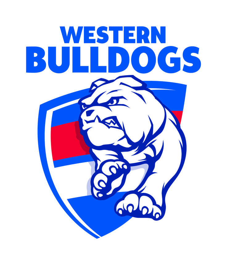 Western Bulldogs Official Logo. Launched on Tuesday 7th October 2014.