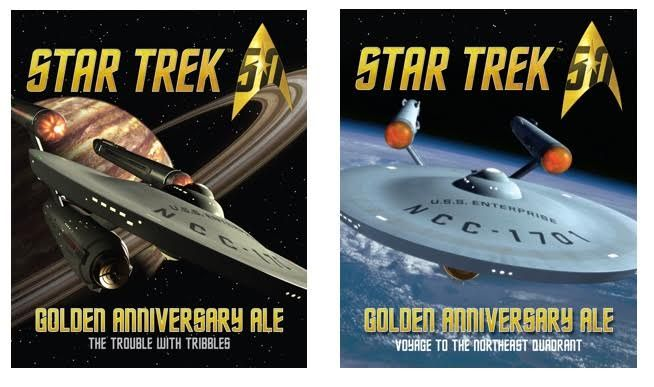 From Shmaltz Brewing Company —  SHMALTZ BREWING CELEBRATES THE 50TH ANNIVERSARY OF STAR TREKWITH TWO COLLECTOR'S EDITION BEER RELEASES DEBUTING AT SAN DIEGO'S COMIC-CON, &#822…