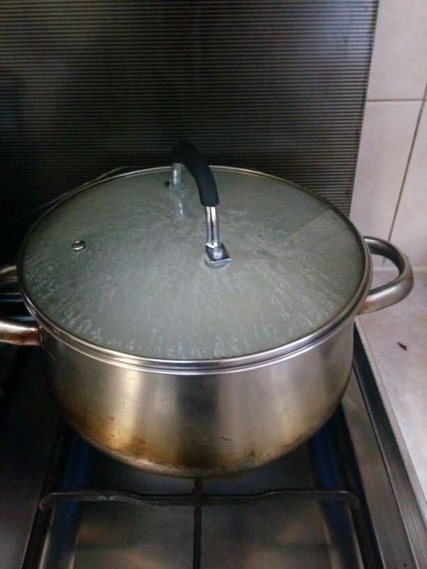 Put it to boil