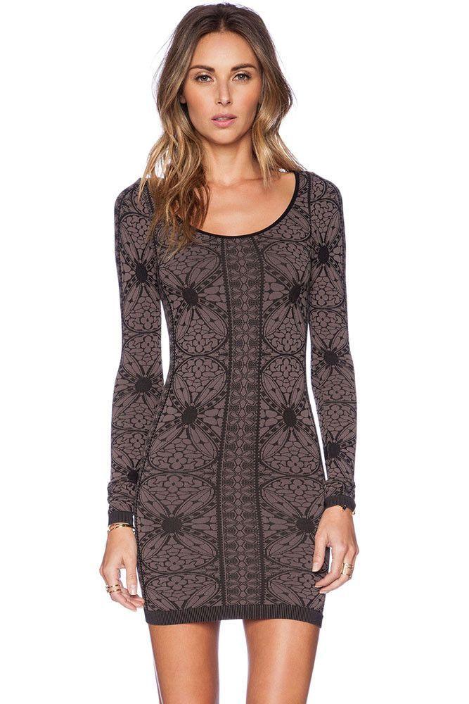 Prix: €13.53 Impression Robe Manches Robes Retro Longue Moulante Pas Cher www.modebuy.com @Modebuy #Modebuy #CommeMontre #me #dress #Grande