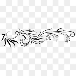 Francês padrão Preto moldura png, Preto, Moldura, Floral FrameImagem PNG