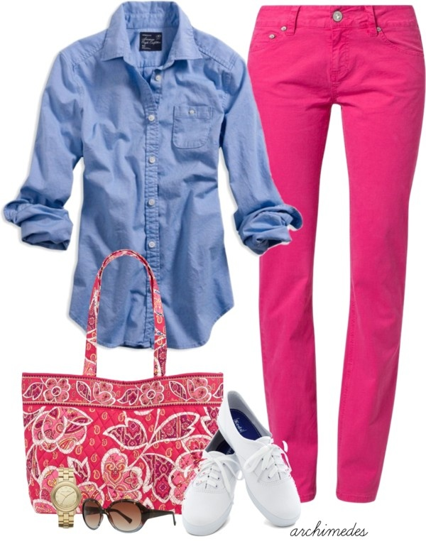 """A Touch of Spring"" by archimedes16 on Polyvore.  Spring holiday, sightseeing"