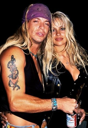 Pam anderson and bret micheals