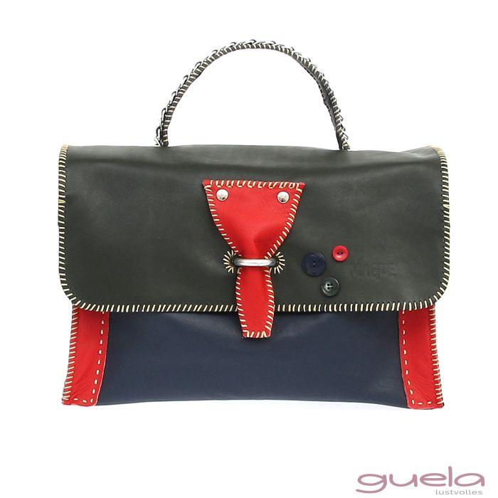 Mit modernen Design und verschiedenfarbenen Leder begeistert  MALA und wird durch Metallbügel und Kettenhenkel zum echten Highlight.  MALA hat den Style für sich gebucht!