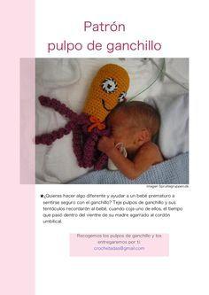 Pulpos de crochet solidarios Hoy os traigo una entrada muy especial que os va a encantar a todos. A