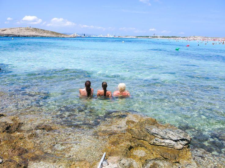 ibiza formentera paradise beach