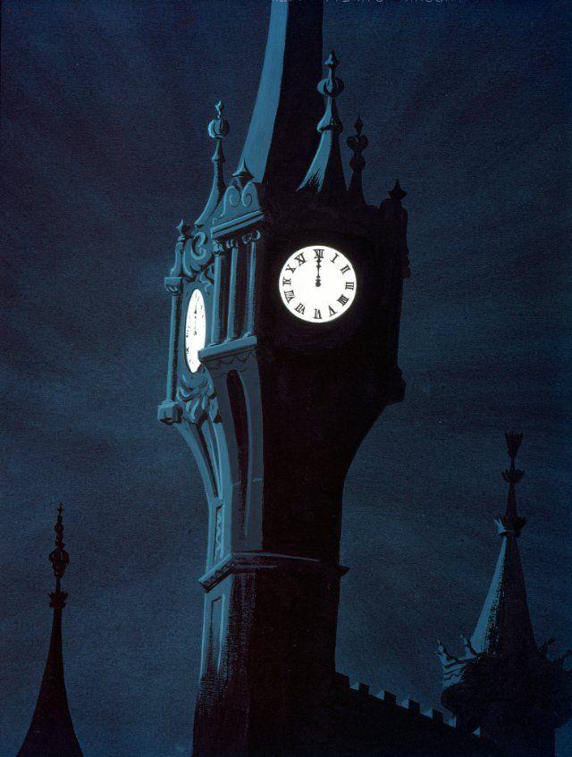 THE CLOCK TOWER Cinderella Nocturnes Pinterest Pictures Diamonds And Medium