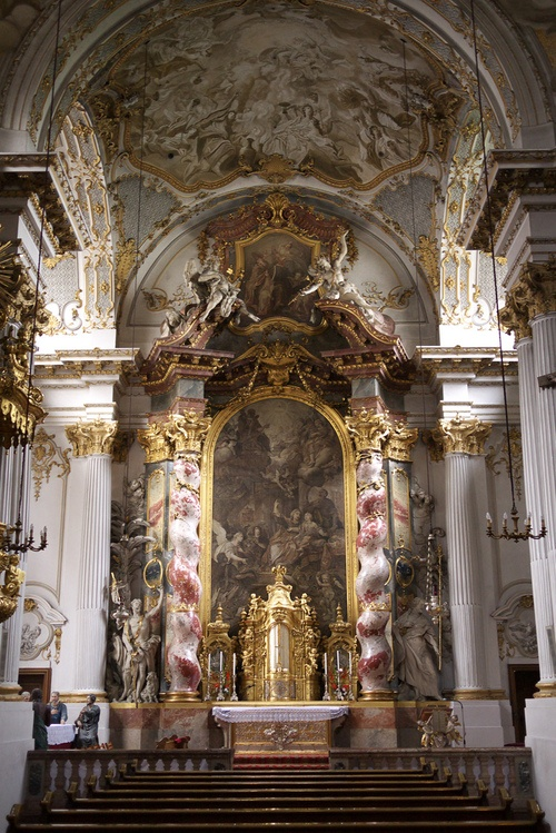 78 best baroque rococo architecture images on pinterest for Churches of baroque period