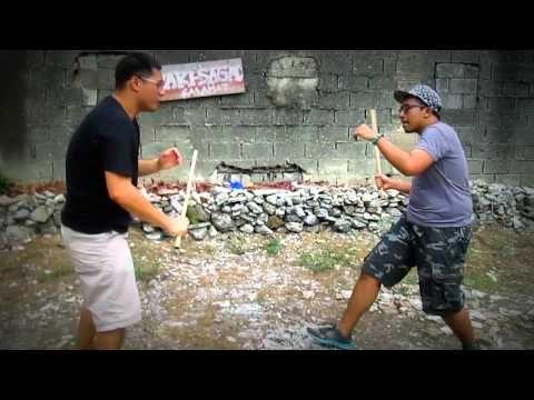 Balintawak Eskrima Quezon City Street Sparring (KALI ARNIS in Manila)
