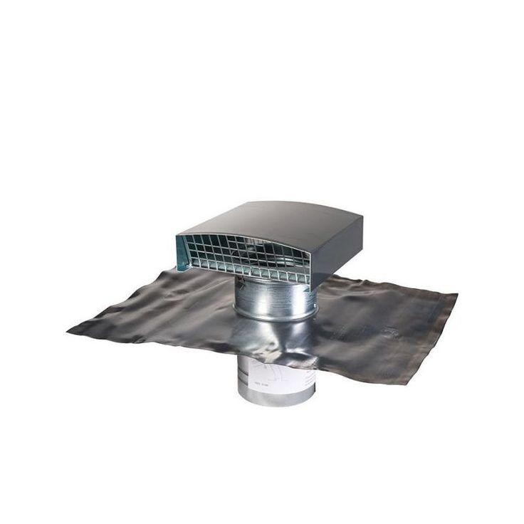 Sortie de toit finition ardoise - Ø 125 mm - VMC double flux - Anjos - ANJOS VENTILATION