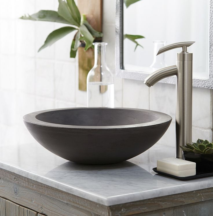 Pinterest'teki 25'den Fazla En Iyi Bathroom Sink Bowls Fikri Stunning Sink Bowl Bathroom Inspiration