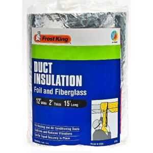 Frost King E/O 12 in. x 15 ft. Foil and Fiberglass Duct Insulation-SP55/6 at The Home Depot