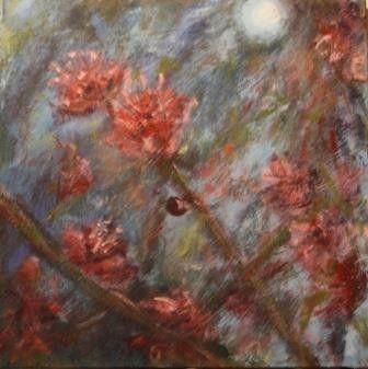 16 x 16 cm, acryl op paneel