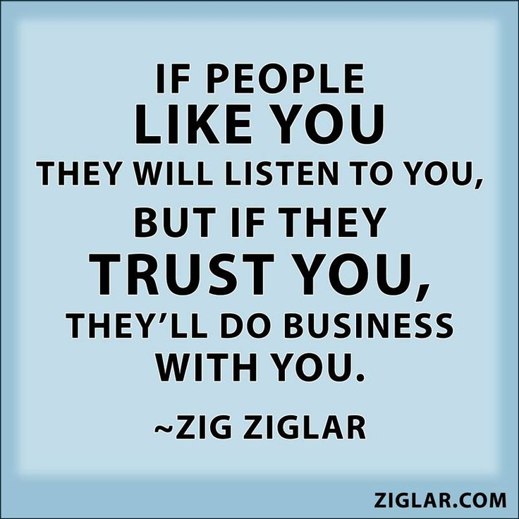 Zig Ziglar How To Build Relationship In Sales