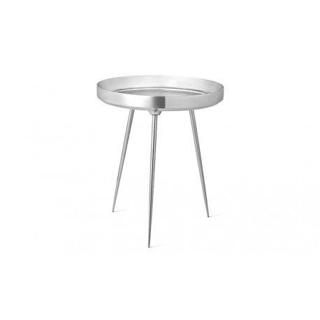 Table basse bowl aluminium Mater