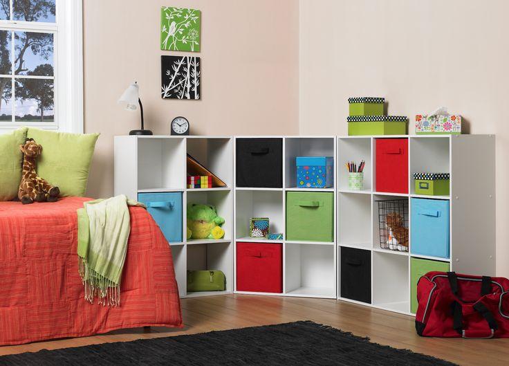 Organización para el cuarto de niños, organizador ideal para poner en orden su cuarto.