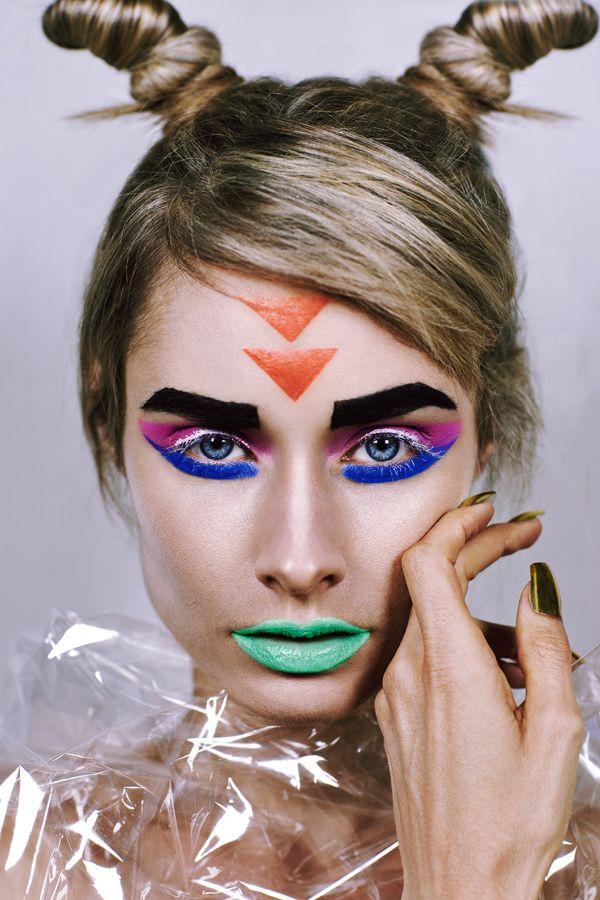 Photography: Amy Nelson-Blain / Makeup/Hair: Amber Adams / Model: Asha Clark http://amberadams.com.au