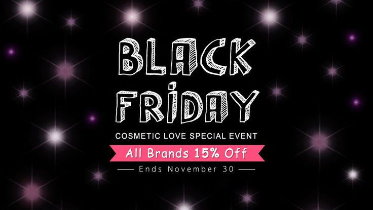 Sale Alert: Cosmetic Love's Black Friday Sale — 15% Off