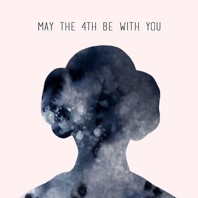 Para todas las princesas que no necesitan que nadie las rescate- Feliz Día de Star Wars