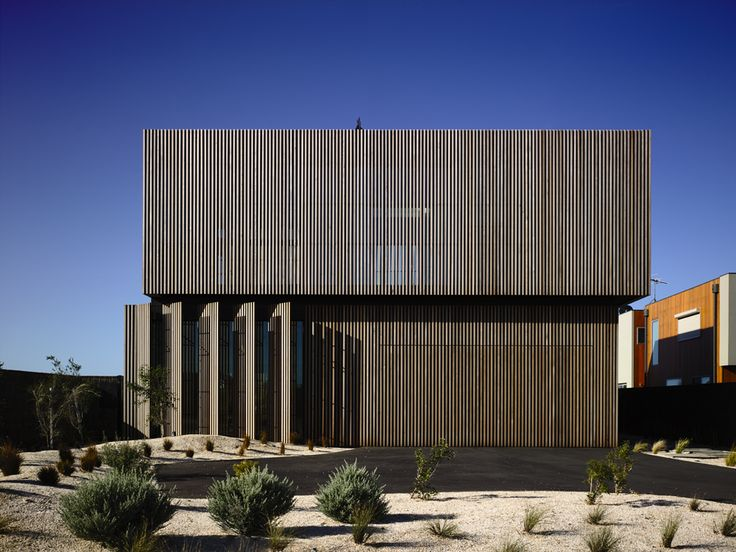 Torquay House, Torquay by Wolveridge Architects Melbourne Architecture Firm using concrete, timber, wood, wolished concrete, recycled materials