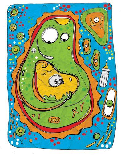 celulas madre caricatura - Buscar con Google