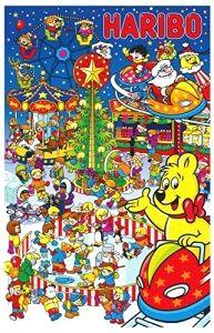 Haribo Adventskalender, 1er Pack (1 x 300 g)   #adventskalendertasche2016 #adventskalendertasche2015 #weihnachtenundso #weihnachtenkommtnäher