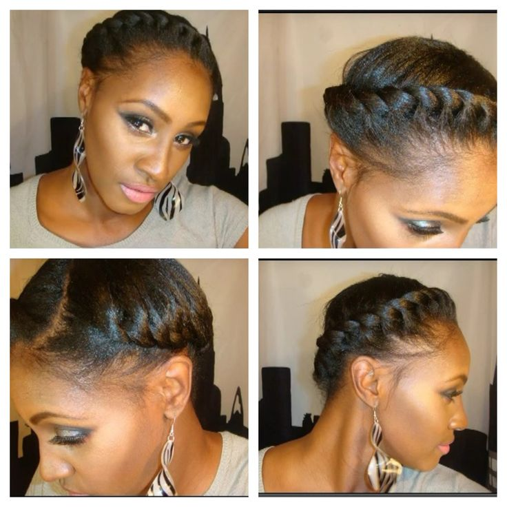 Protective Style Flat Twist
