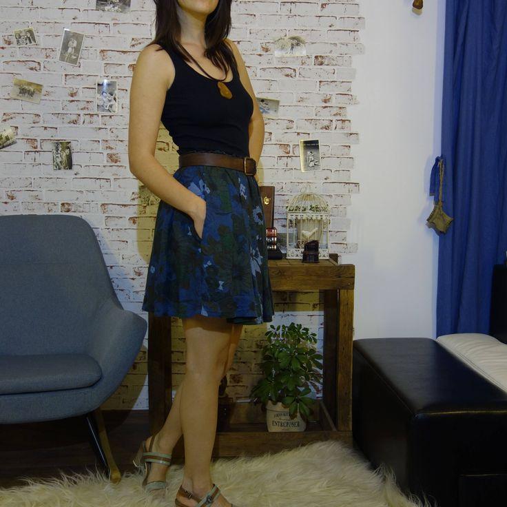 Short Linen Skirt, Sustainable fashion, Ethical closet, Slow fashion