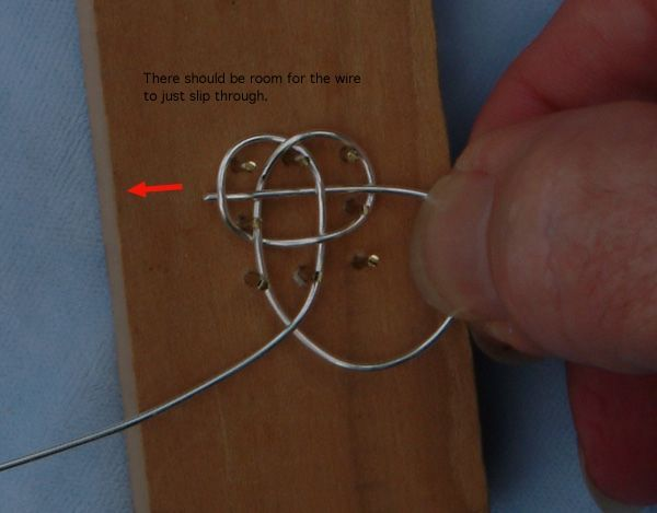 Tying Carrick Mats in Fine Silver (Knotted Chain Mail)