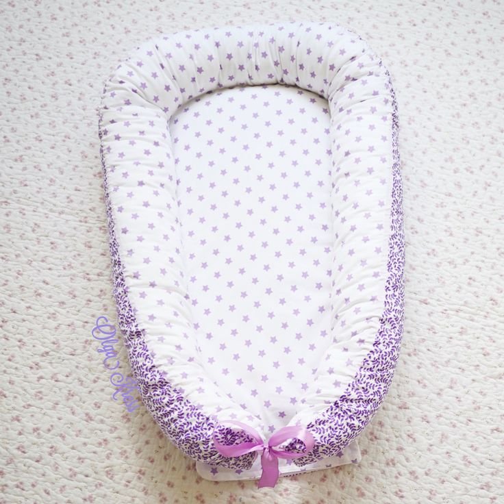 "Babynest ""Deep Purple"" by Olgakress on Etsy"