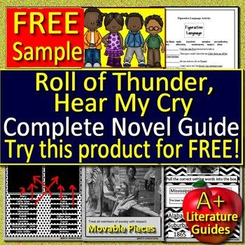 This is a free sample of roll of thunder hear my cry novel study this is a free sample of roll of thunder hear my cry novel study bundle fandeluxe Image collections