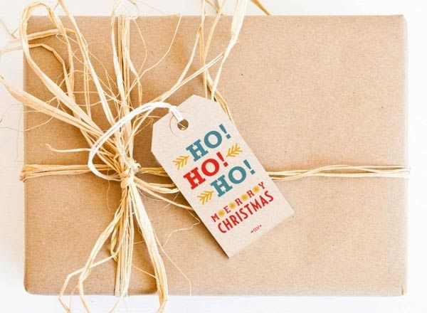 Chrismast Gift Packaging and Tags
