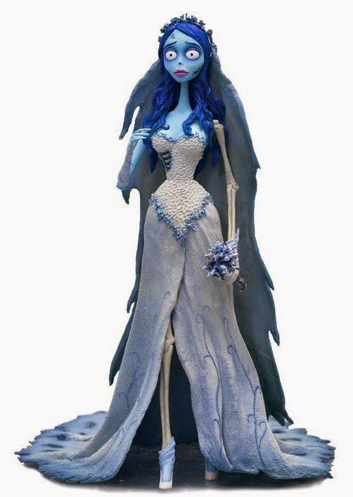 Mundo Obscuro Zine: O vestido da Emily A Noiva cadáver
