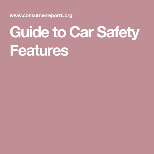 Guide to Car Safety Features