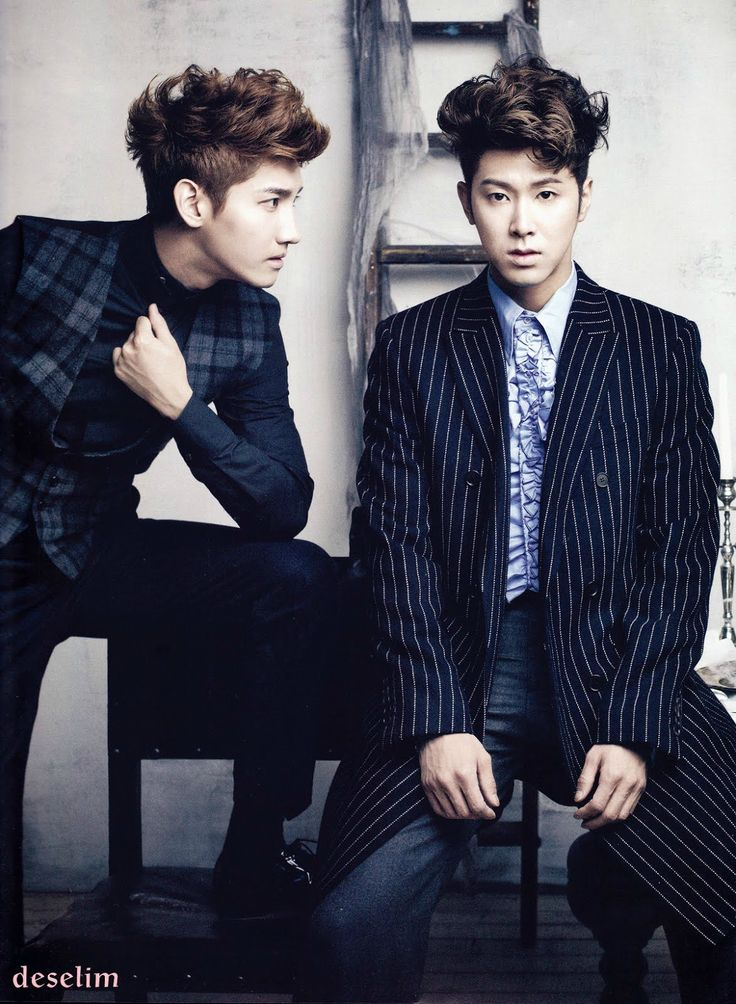 Changmin + Yunho - TVXQ! - Ceci Photoshoot