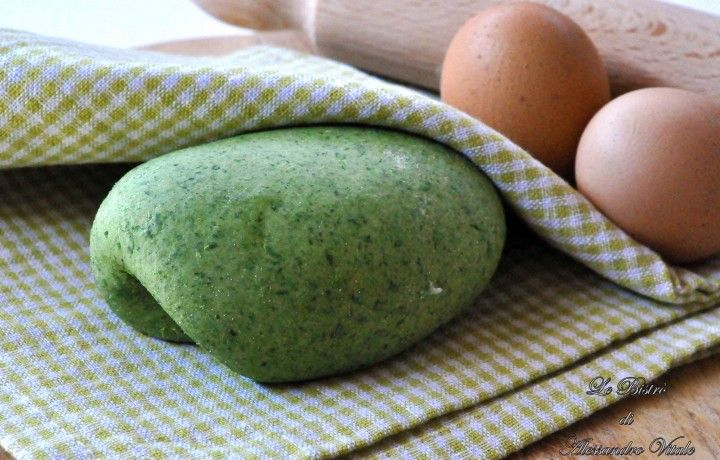 Sfoglia verde, ricetta base