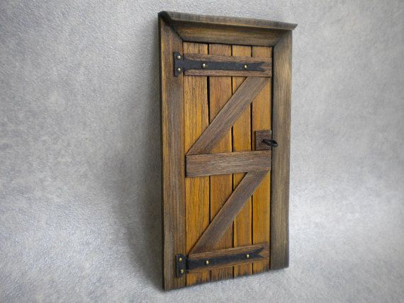 Doll House Door Fairy Door Tudor Medieval Cottage Fairy