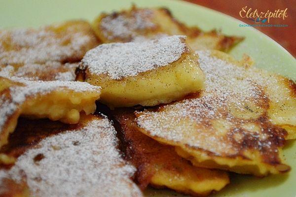 Bundás banán, avagy gyümölcs sűrű palacsintatésztában