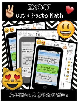 This is such a fun way for kids to practice their computation! Students must work the problem to find the correlating emoji! They then cut and paste the emoji. These work great for centers, fun days, sub days, and display work!