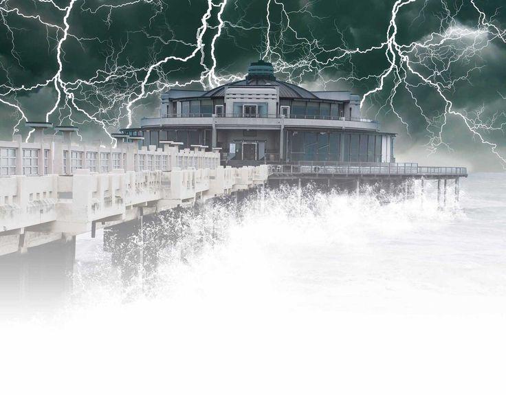 Storms - Belgium Pier - Blankenberge
