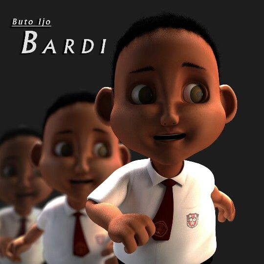 "Bardi, ""Buto Ijo"" short movie. 3D character modelling."