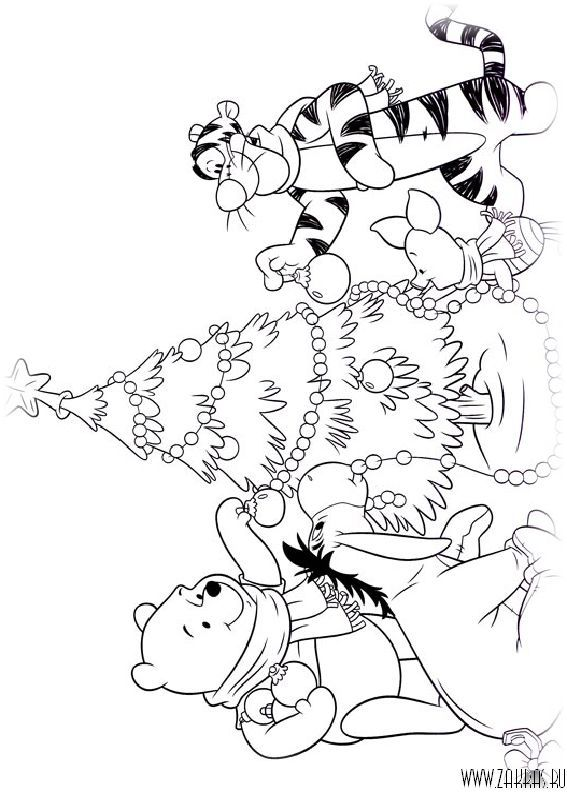99 best coloriage winnie l 39 ourson images on pinterest adult coloring coloring book and - Coloriage winni l ourson ...