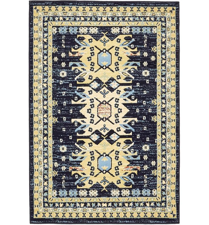 Mattea Southwestern Navy Blue Area Rug Unique Loom Area Rugs Blue Area Rugs