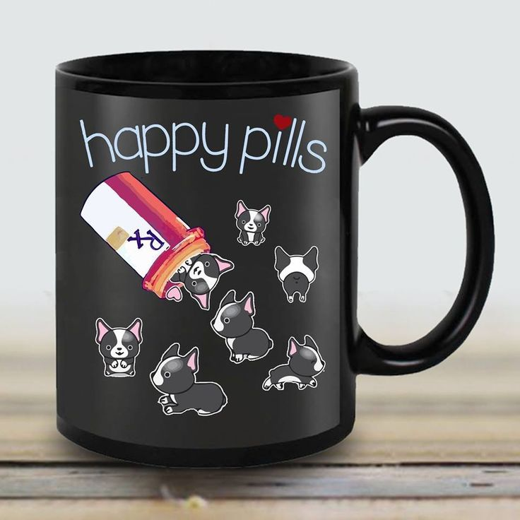 OMG, French Bulldog Puppy Happy Pills! Yes Please ; }