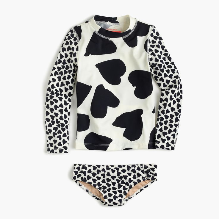 Shop the Girls' Mixed Hearts Rash Guard at JCrew.com and see our entire selection of Girls' Swim.
