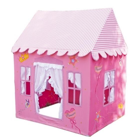 Tienda juguete casita de juegos infantiles modelo princesa realizada en tela ref berl n - Casitas de princesas ...