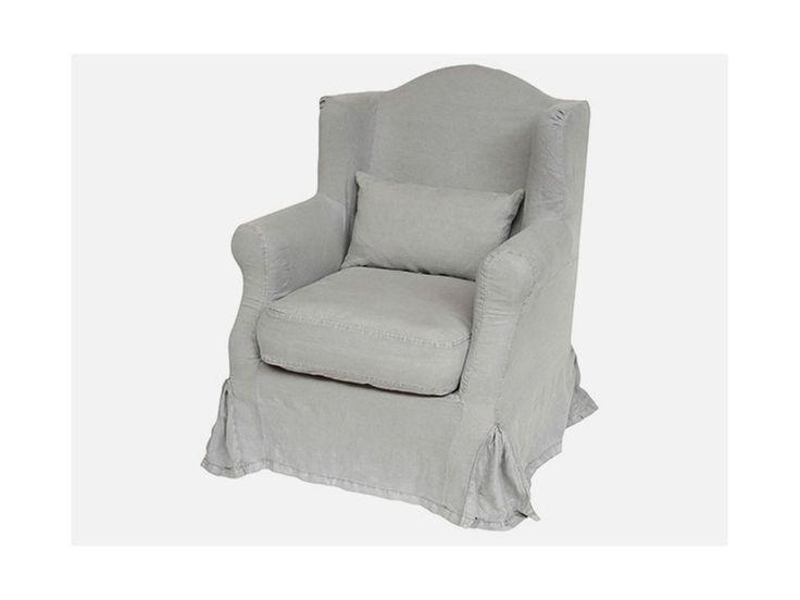 Fotel Soft Szary — Fotele Ib Laursen — sfmeble.pl