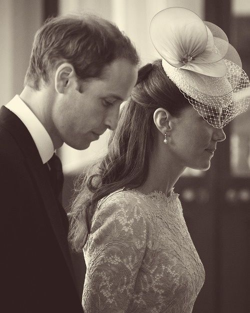 Prince William and Kate Middleton at Queen Elizabeth II Jubilee Service